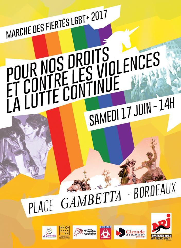 MARCHE DES FIERTÉS LGBT+ 2017