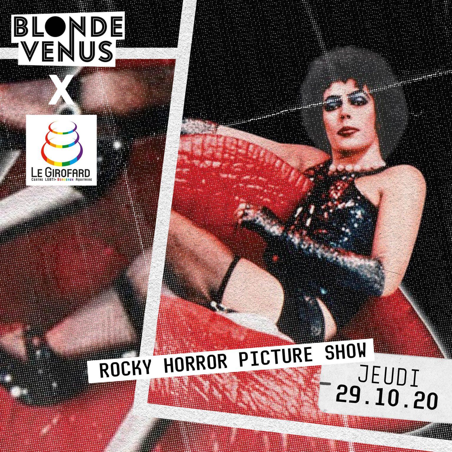 [Activités] Rocky Horror Picture Show X Venus Blonde X Girofard