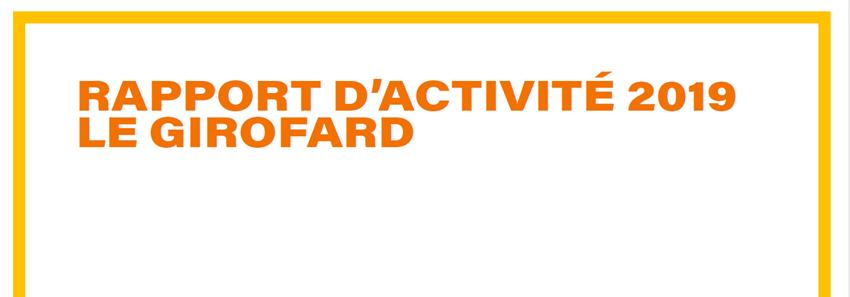 Rapport d'activité 2019 Girofard