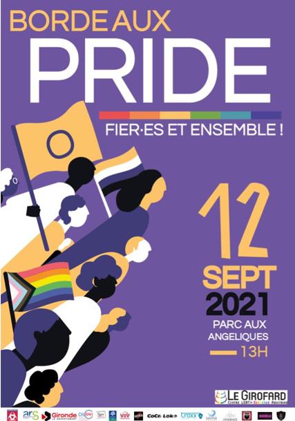 Marche des fiertés 2021 Bordeaux